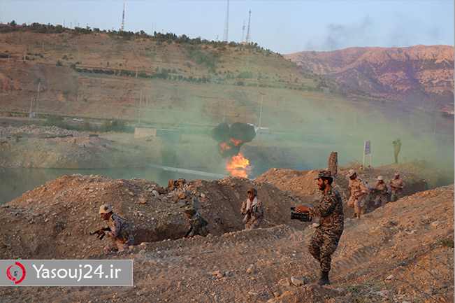 حمله ی نیروهای ایرانی به عراق در عملیات بدر